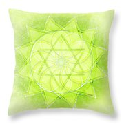 Heart Chakra Series Two Throw Pillow