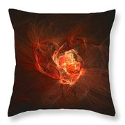 Heart... - Coeur... Throw Pillow