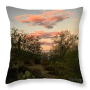 Heart In The Clouds Throw Pillow