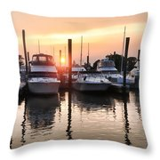 Heart Light Throw Pillow