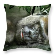 Heart Of A Beast Throw Pillow