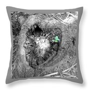 Heart Of A Tree 2 Throw Pillow