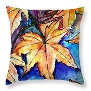 Heart Of Fall Throw Pillow