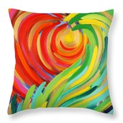 Heart Of God Throw Pillow