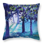 Heart Of The Forest Throw Pillow