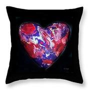 Heart Of The Matter Throw Pillow