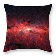 Heart Of The Milky Way Throw Pillow
