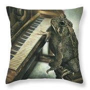 Heart Of The Symphony Throw Pillow