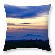 Heart Of The Valley Throw Pillow