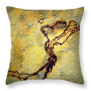 Heart On A String Throw Pillow