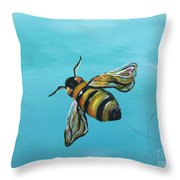 Heart On My Wing Throw Pillow