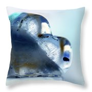 Heart On The Edge Throw Pillow