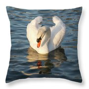 Heart Shaped Pride And Grace Throw Pillow