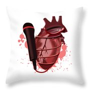 Heart Song1 Throw Pillow