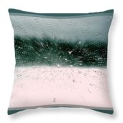 Heart Spattered Throw Pillow