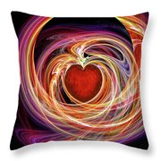 Heart Throb Throw Pillow