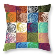 Heart To Heart Rendition 5x6 Equals 30  Throw Pillow