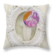 Heart-unicorn-artwork Throw Pillow