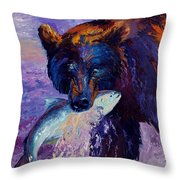 Heartbeats Of The Wild Throw Pillow