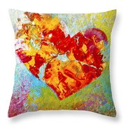 Heartfelt I Throw Pillow