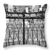 Hearts And Crosses Throw Pillow