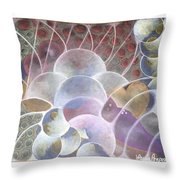 Hearts Bubbling Over Throw Pillow