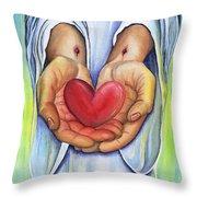 Heart's Desire Throw Pillow