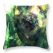 Hearts In Bloom 2 Throw Pillow
