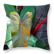 Hearts In The Wild Throw Pillow