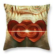 Hearts United Throw Pillow