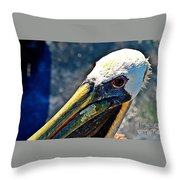 Heat Of A Day Throw Pillow