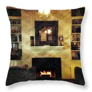 Heat Of The Moment Throw Pillow