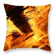 Heated Harley Throw Pillow