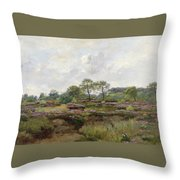 Heather Landscape Throw Pillow