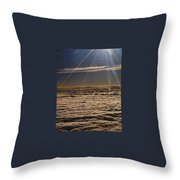 Heaven Above The Clouds Throw Pillow