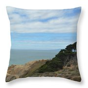 Heaven And Earth Throw Pillow