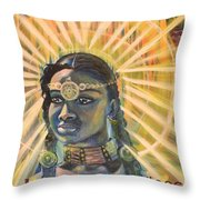 Heaven Is In Throw Pillow