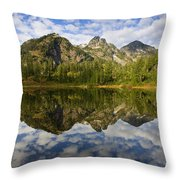 Heaven Unfolded Throw Pillow