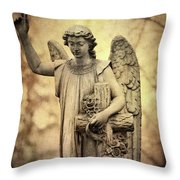 Heavenly Angel Throw Pillow