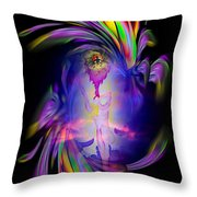 Heavenly Apparition Throw Pillow