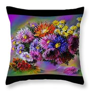 Heavenly  Blossom Throw Pillow
