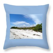 Heavenly Day  Throw Pillow