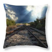 Heavenly Decision Throw Pillow