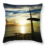 Heavenly Dinner Table Throw Pillow