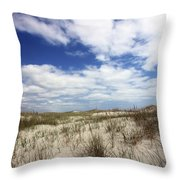 Heavenly Dune Throw Pillow