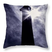 Heavenly Eclipse Throw Pillow