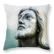 Heavenly Father, Jesus Christ Inspirational Throw Pillow