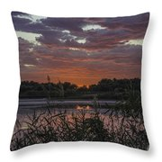 Heavenly Pink Throw Pillow