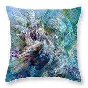 Heavenly Queen 2 Throw Pillow