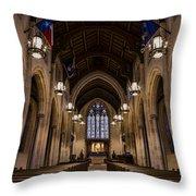 Heavenly Rest Sanctuary Throw Pillow